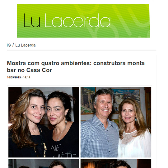 Alcance Construtora no Blog Lu Lacerda