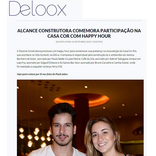 Alcance Construtora no Portal Deloox
