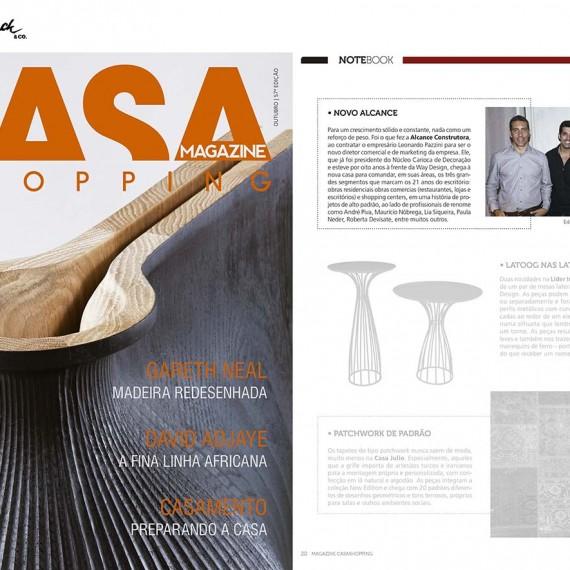 Revista Magazine Outubro Alcance Construtora